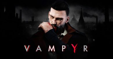Vampyr title screen