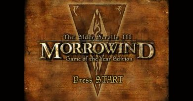 Morrowind title screen