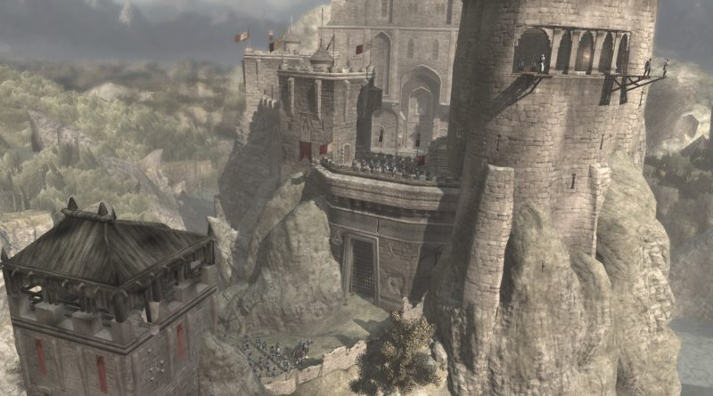 Wide view of starting city in Assassin's creed
