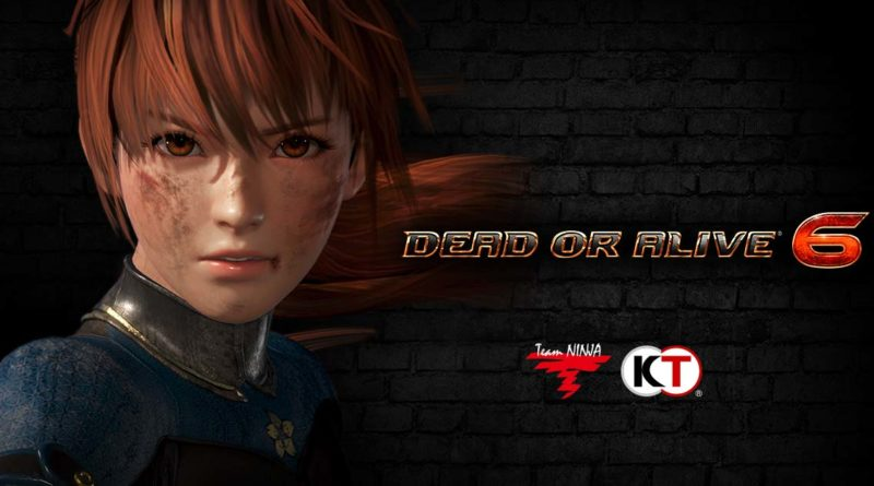 Dead or Alive 6 title screen
