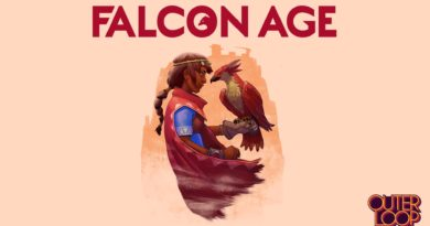 Falcon Age title screen