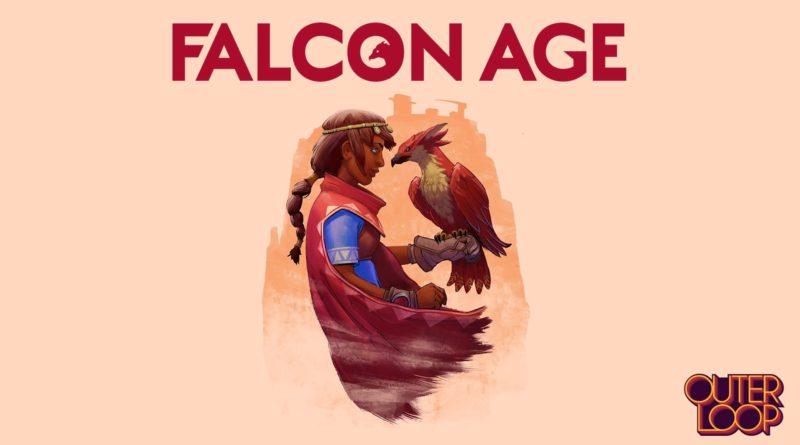 Falcon Age title screen