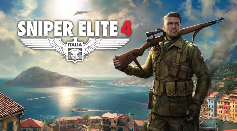 Sniper Elite 4 title screen