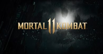 MK11 title screen