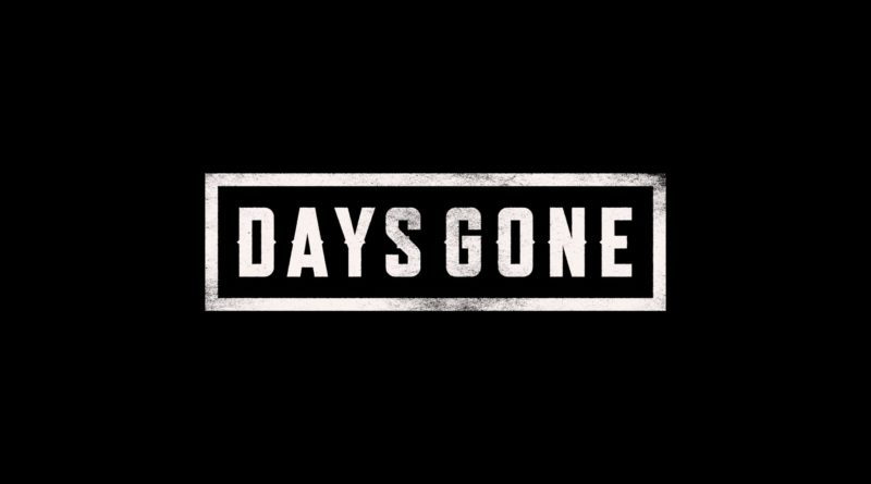 Days Gone title screen