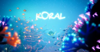 Koral title screen