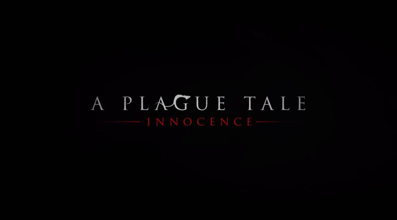 A Plague Tale title screen