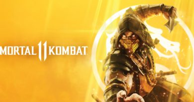 Mortal Kombat 11 title screen