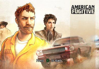 American Fugitive title screen.