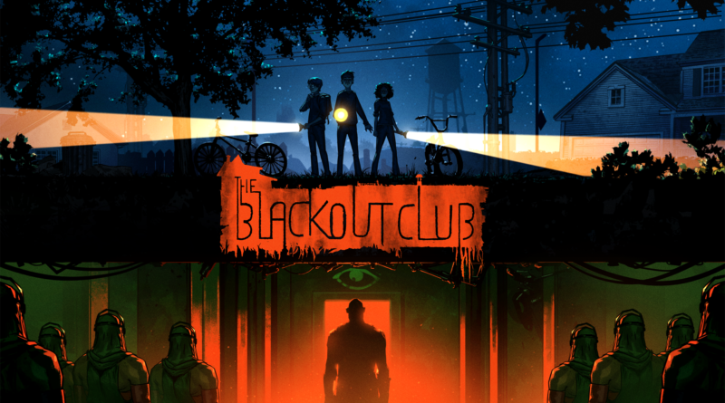 The Blackout Club title screen