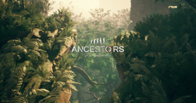 Ancestors title screen