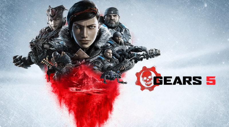 Gears 5 title screen