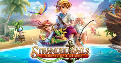 Stranded Sails cover art.