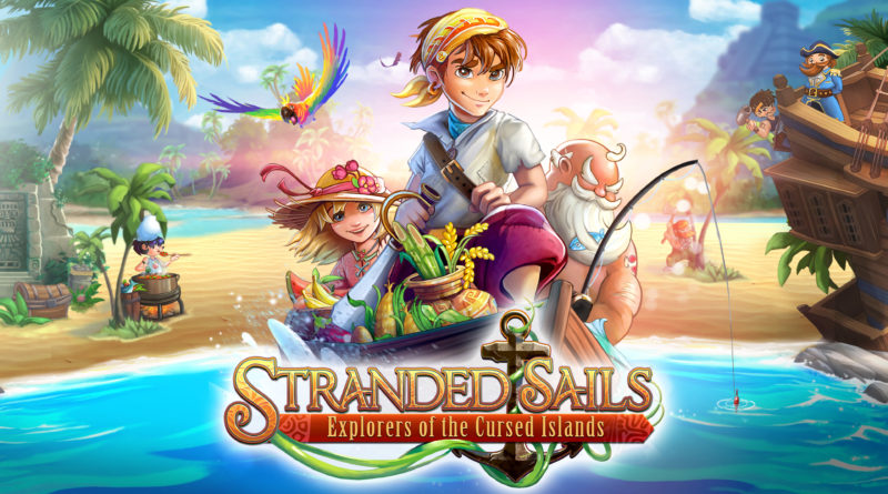 Stranded Sails cover art.