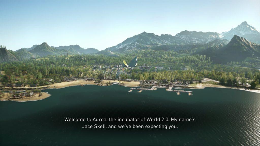 Opening cinematic illustrating largest subtitle size.