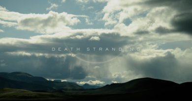 Death Stranding title screen