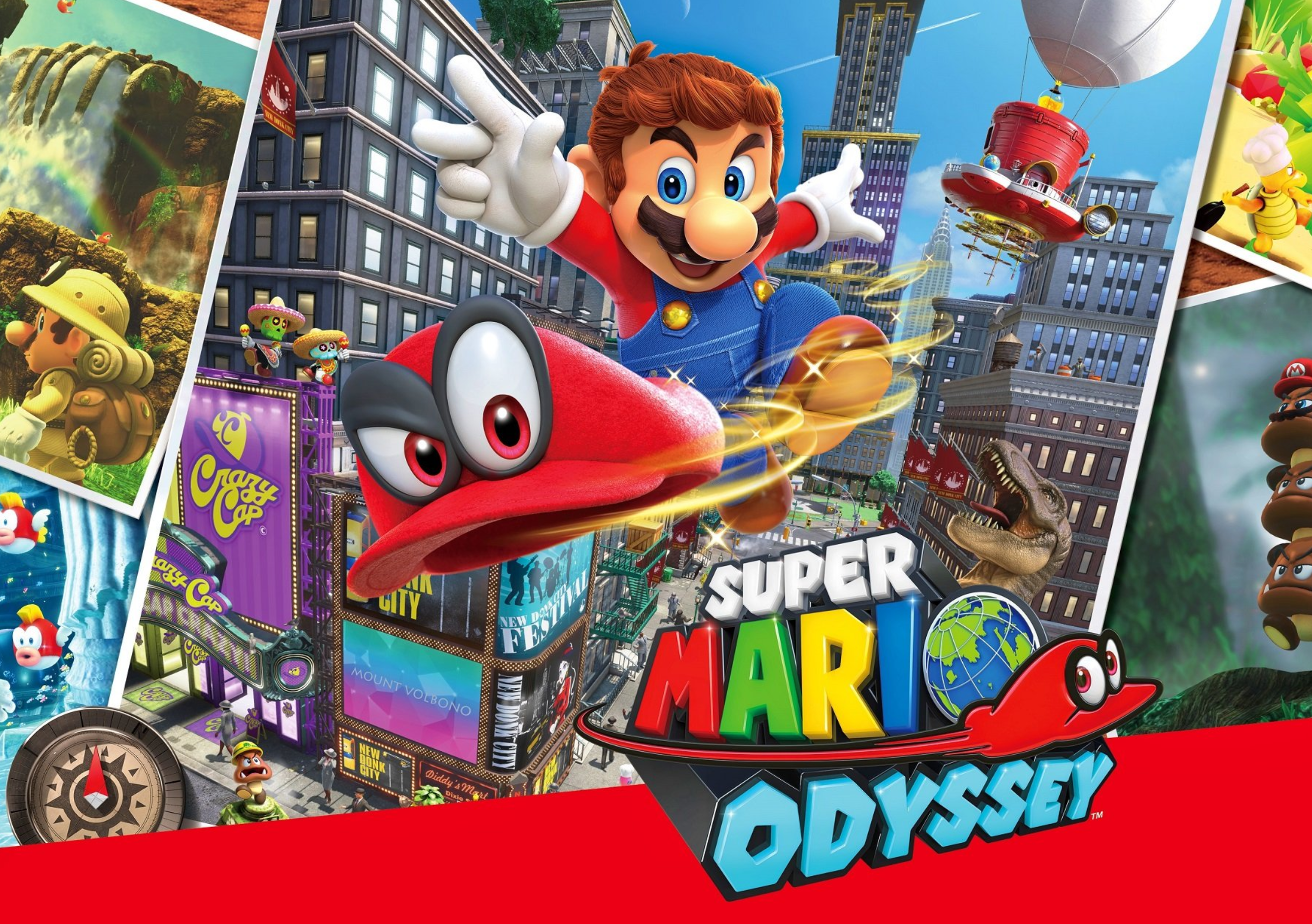 Visually Impaired Game Review – Super Mario Odyssey