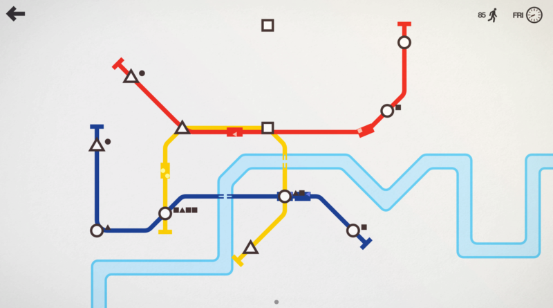 Visually Impaired Game Review – Mini Metro