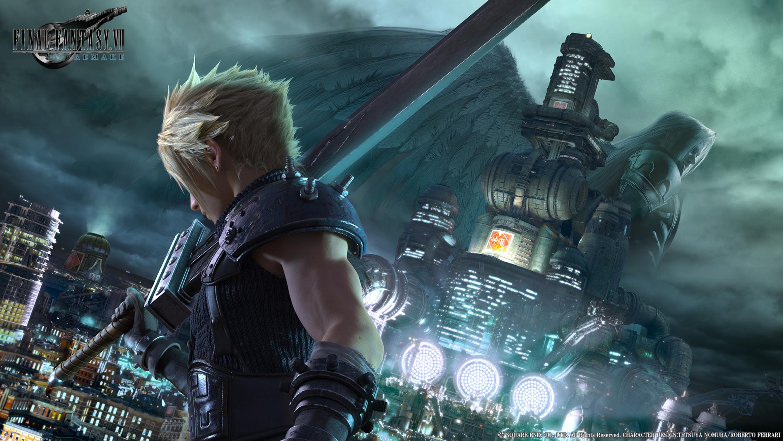 Deaf/HOH Game Review – Final Fantasy VII Remake Demo