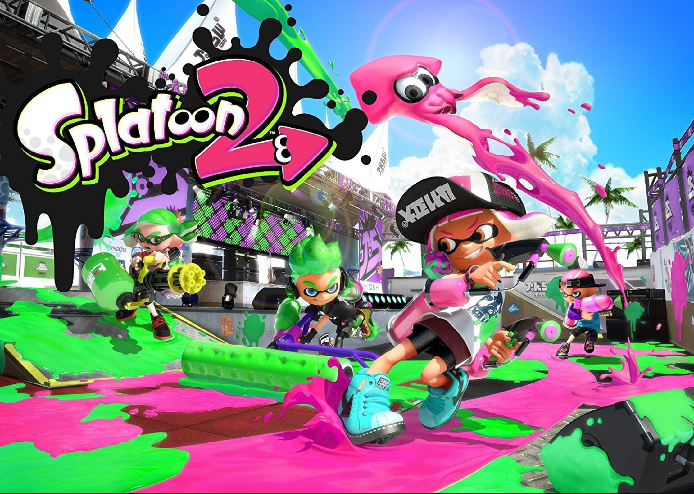 Visually Impaired Review – Splatoon 2