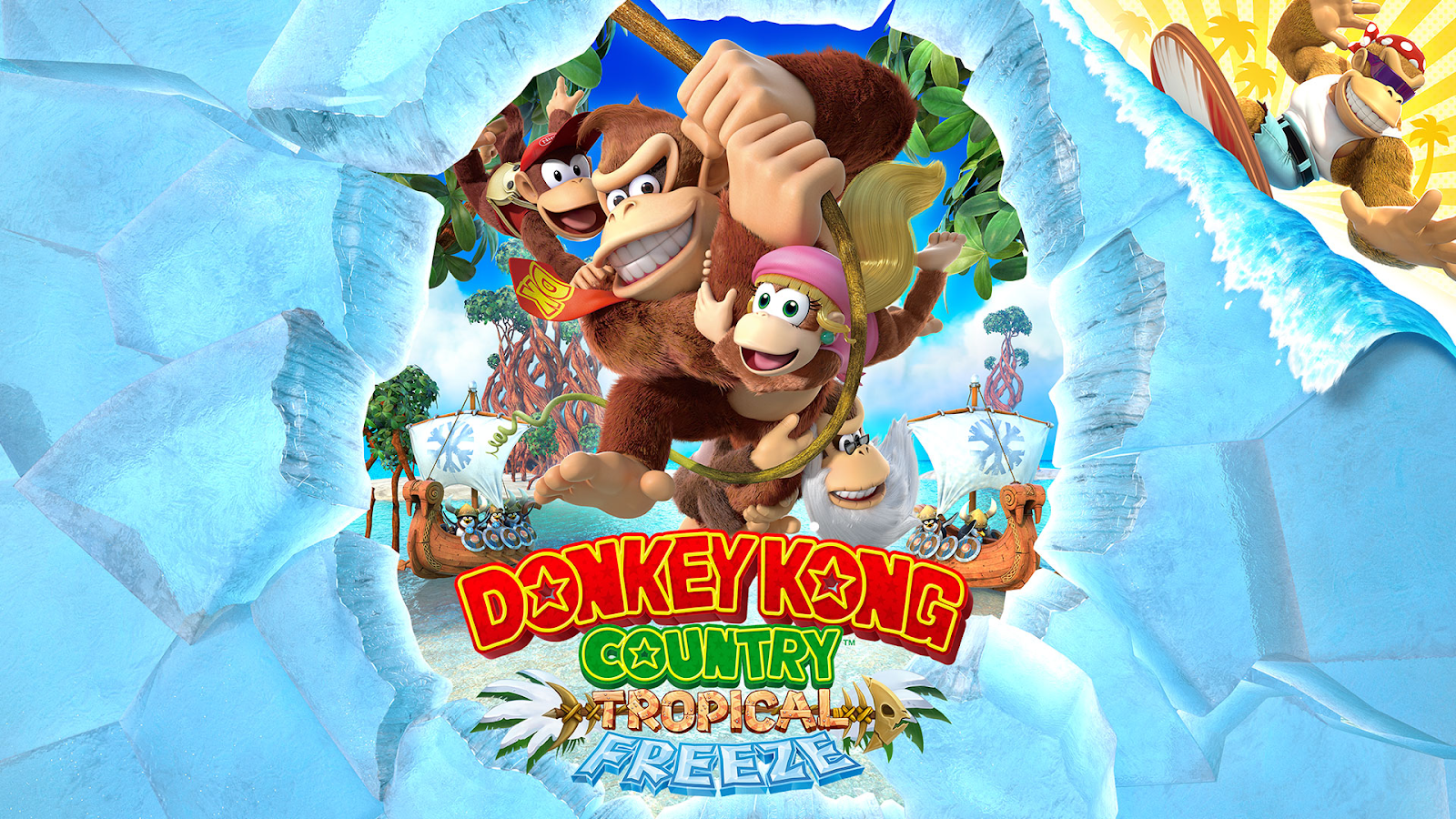 Donkey Kong Country Tropical Freeze — Visually Impaired Review